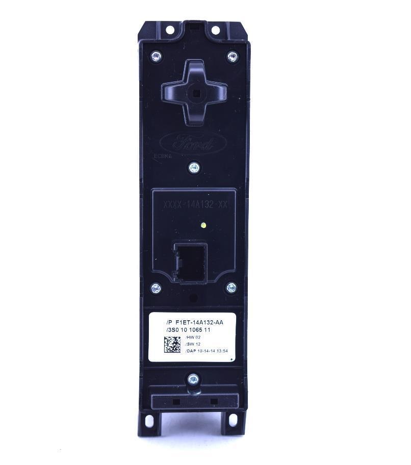 Botão Vidro Elétrico Interruptor Quadruplo Focus e New Fiesta de 2013 a 2019