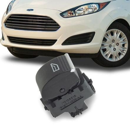 Botao Interruptor Vidro Eletrico Simples Focus Apos 2013 e New Fiesta