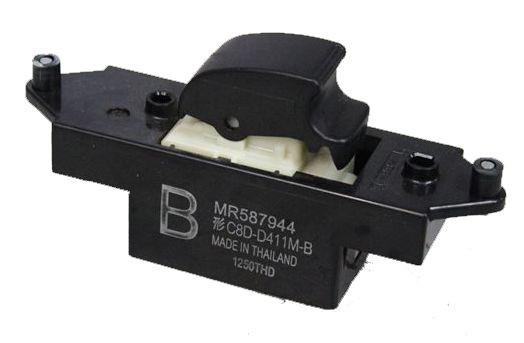 Botao Interruptor Vidro Eletrico Simples Mitsubishi Outlander LAncer e ASX- MR587944