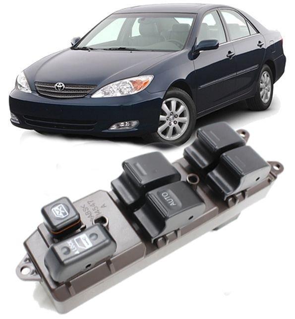 Botao Interruptor Vidro Eletrico Toyota Camry 3.0 V6 24v de 2002 a 2006