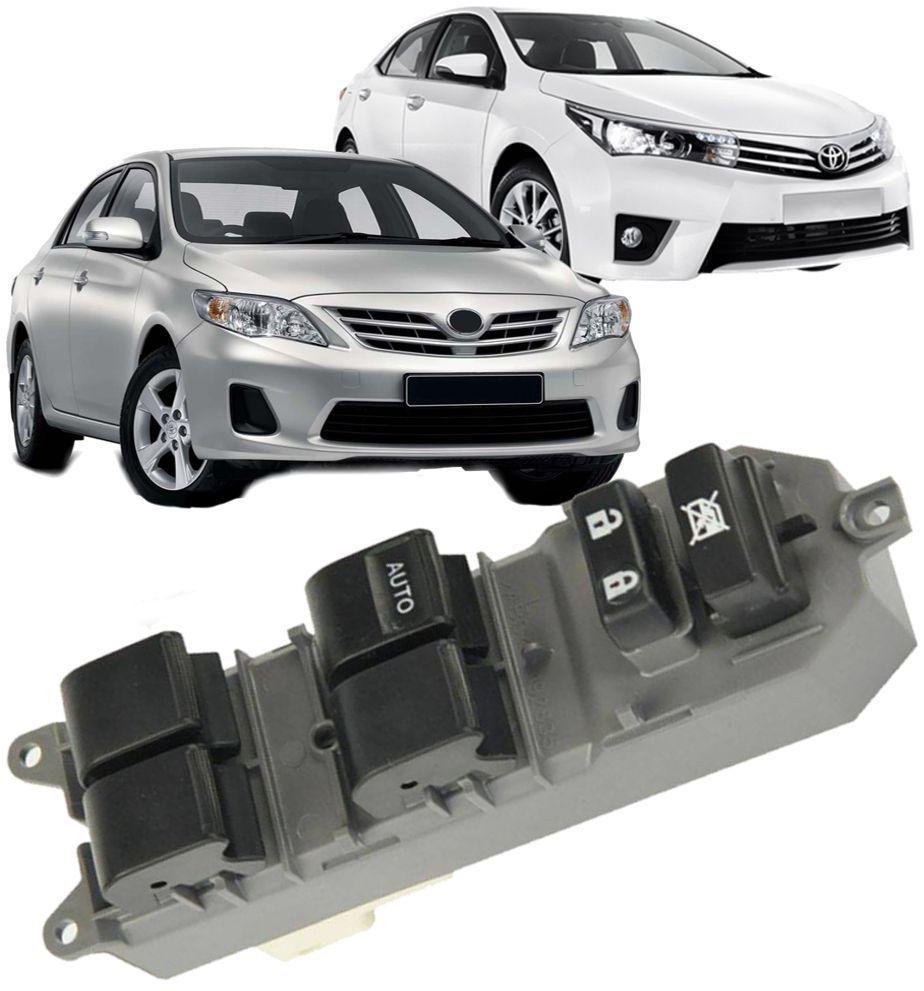 Botao Interruptor Vidro Eletrico Toyota Corolla 2009 a 2017