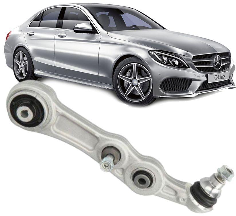 Braço Superior Reto Esquerdo Mercedes C180 C200 C250 GLC250 de 2015 à 2019