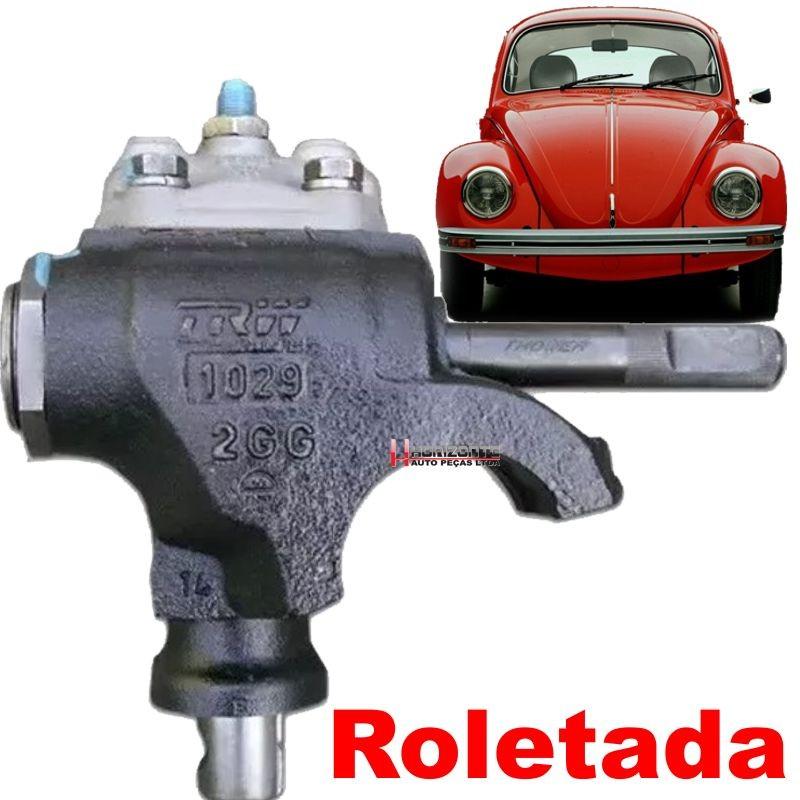 Caixa De Direcao Fusca Brasilia TL Variant Puma Remanufaturado Roletada