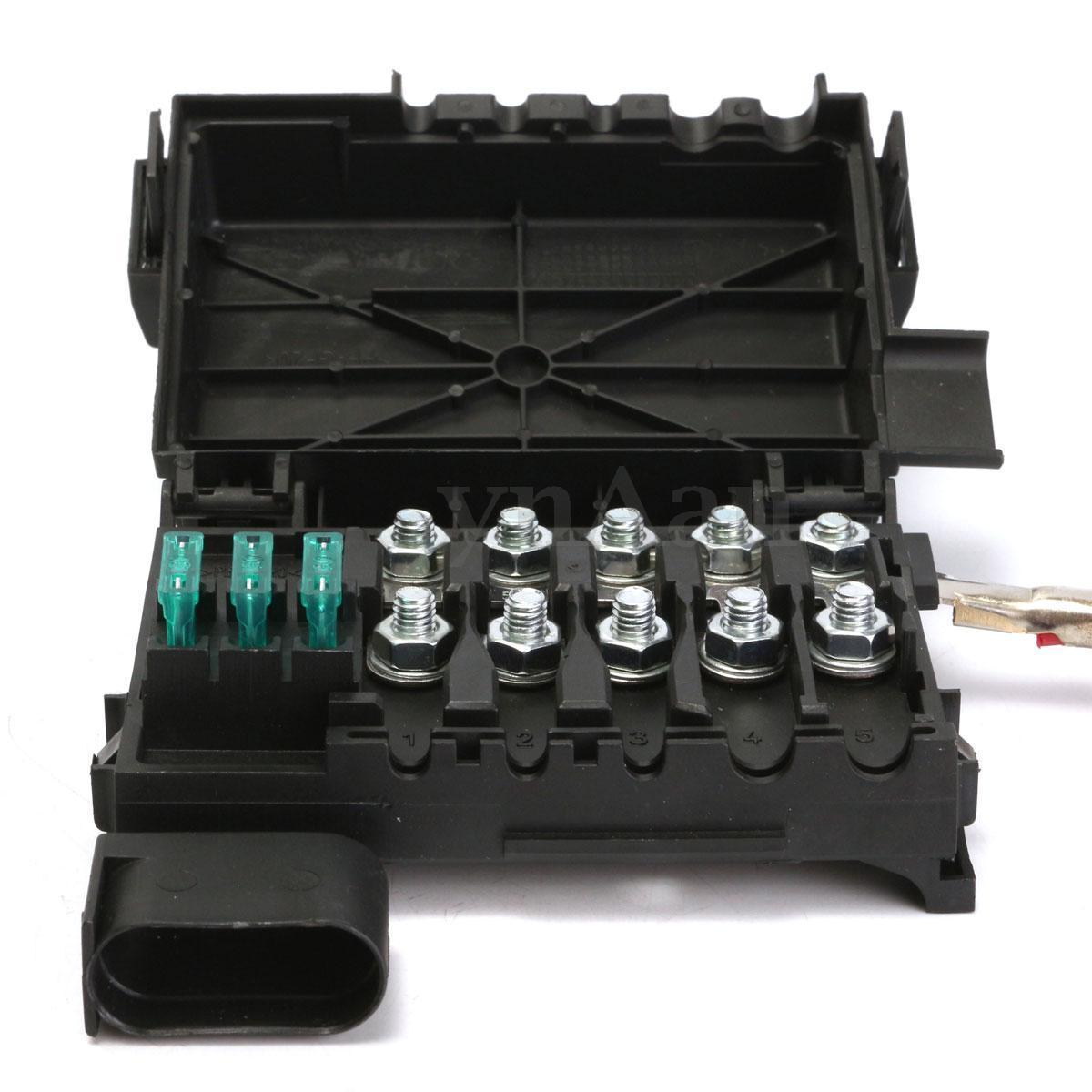 Caixa Fusivel Rele Bateria Golf Audi A3 Bora Passat Beetle de 1998 a 2013