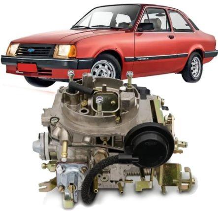 Carburador 2E Chevette e Chevy 1.6 à Alcool de 1991 à 1995