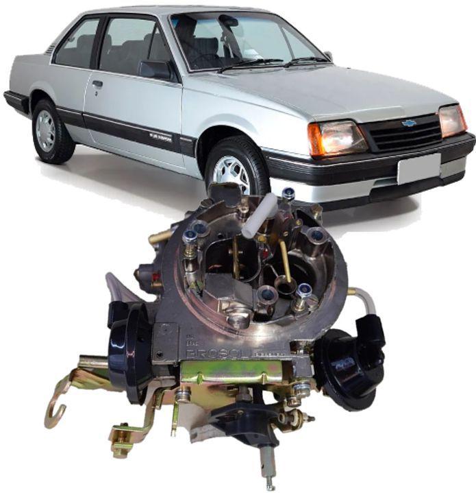 Carburador 2E Monza Kadett Ipanema 1.8 e 2.0 a Alcool Recondicionado