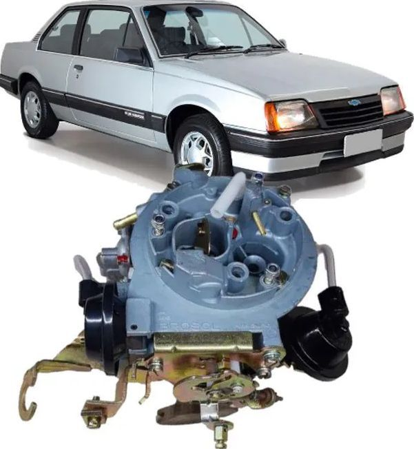 Carburador 2E Monza Kadett Ipanema 1.8 e 2.0 a Gasolina Recondicionado