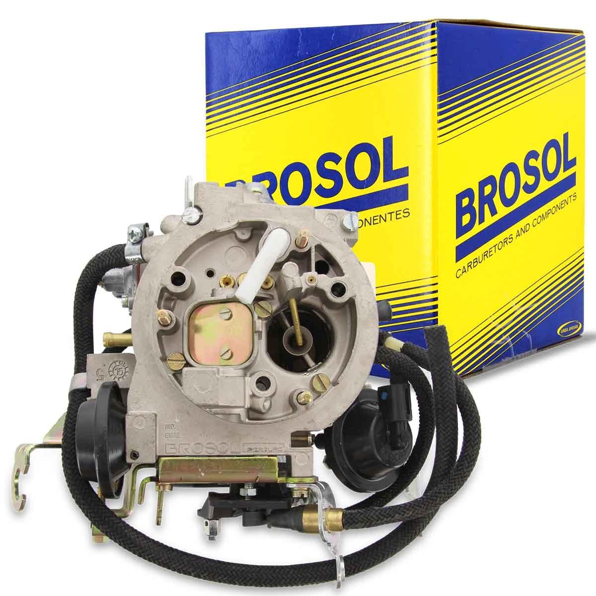 Carburador 2E Monza Kadett Ipanema 2.0 a Alcool Solex Brosol