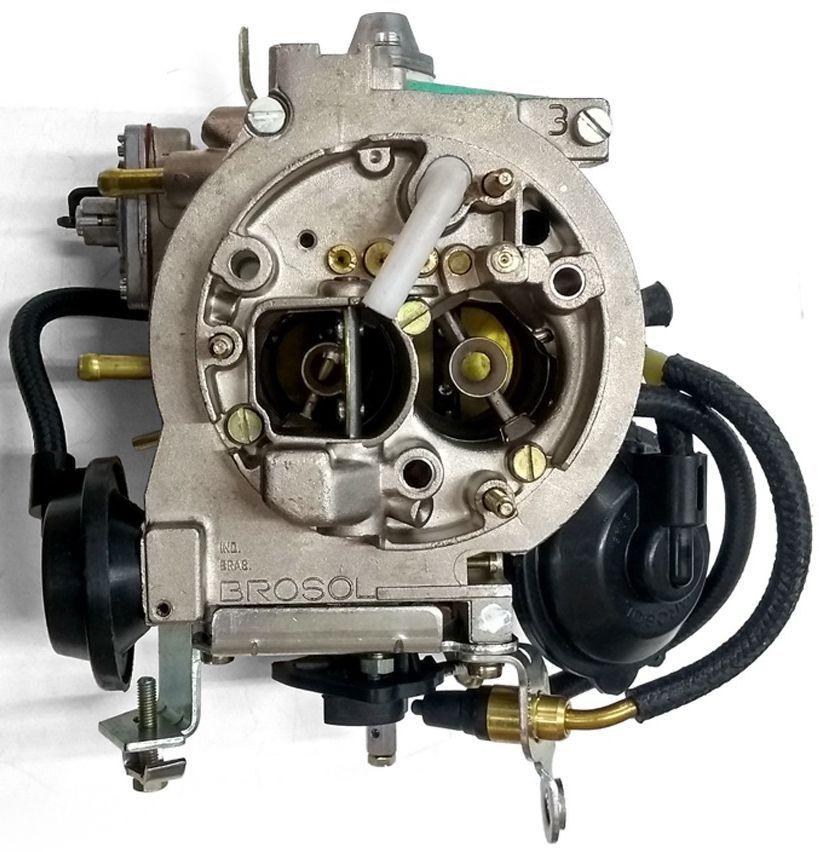 Carburador 3E Opala Caravam 2.5 4cc a Alcool Original Solex Brosol