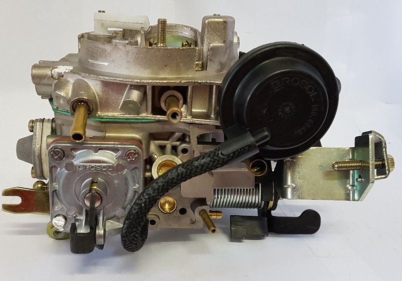 Carburador 3E Opala Caravam C20 6cc a Alcool Solex Brosol