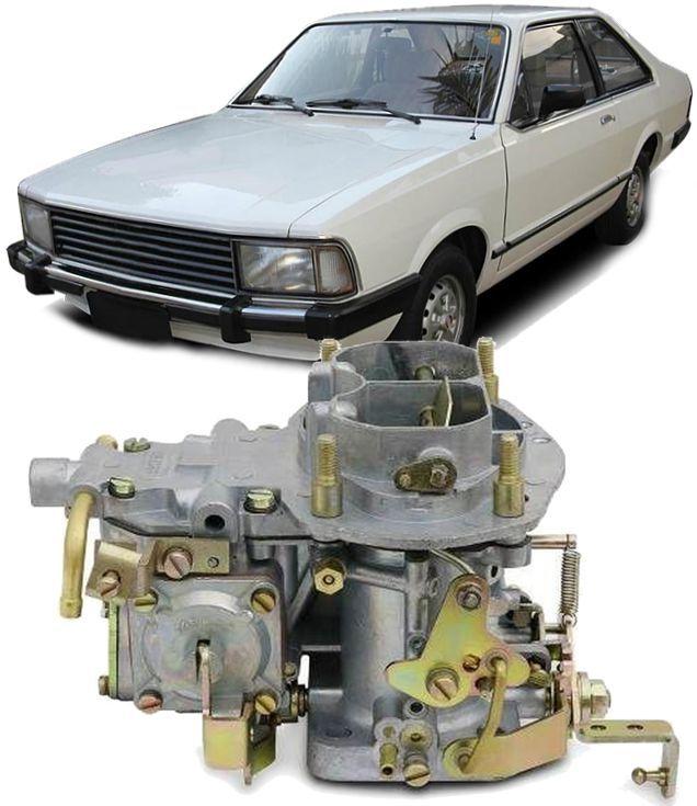 Carburador Corcel II Del Rey Belina Maverick a Gasolina 4cc H34 Novo da Mecar