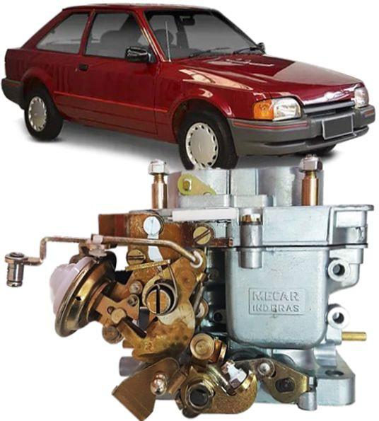 Carburador Escort Del Rey Pampa Belina Corcel CHT 1.6 Gasolina