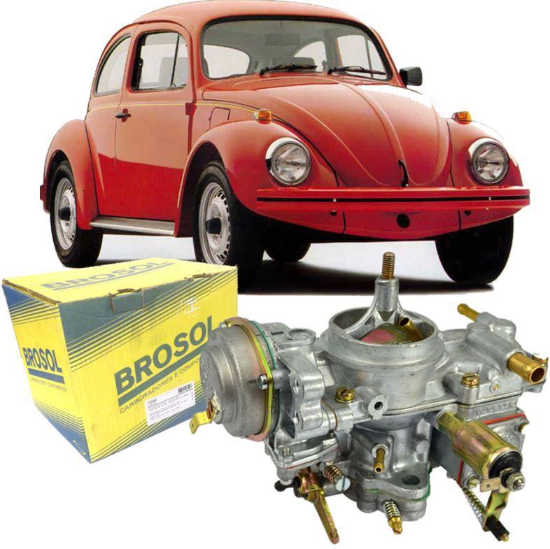Carburador Fusca Itamar 1600 à Gasolina de 1993 à 1996 Solex BROSOL - Direito