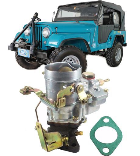 Carburador Jeep Willys 6cc Modelo DFV Gasolina