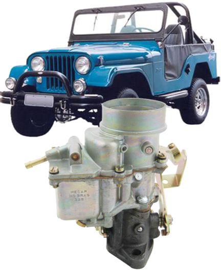 Carburador Jeep Willys 6cc Modelo Dfv Gasolina