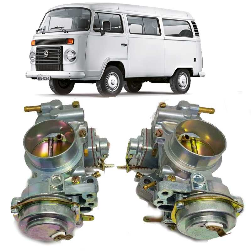 Carburador Kombi Fusca Brasilia H32/34 Pdsi 2 Gasolina Duplo de 1979  a 1996