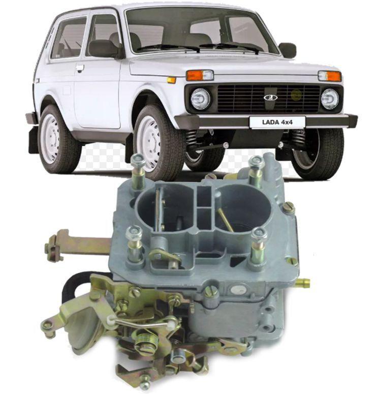 Carburador Lada Niva 1.6 de 1990 a 1994 a Gasolina Novo