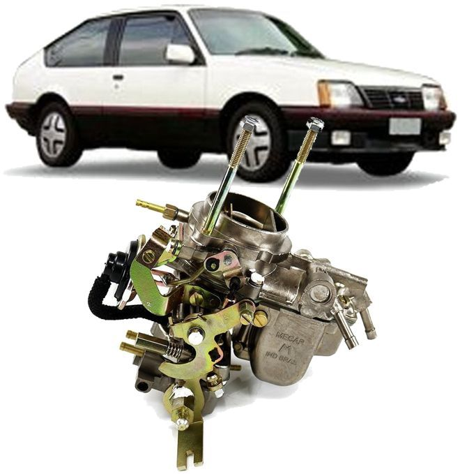 Carburador Monza 1.6 e 1.8 Simples Solex Brosol H-35 Alfa1 a Alcool Novo da Mecar
