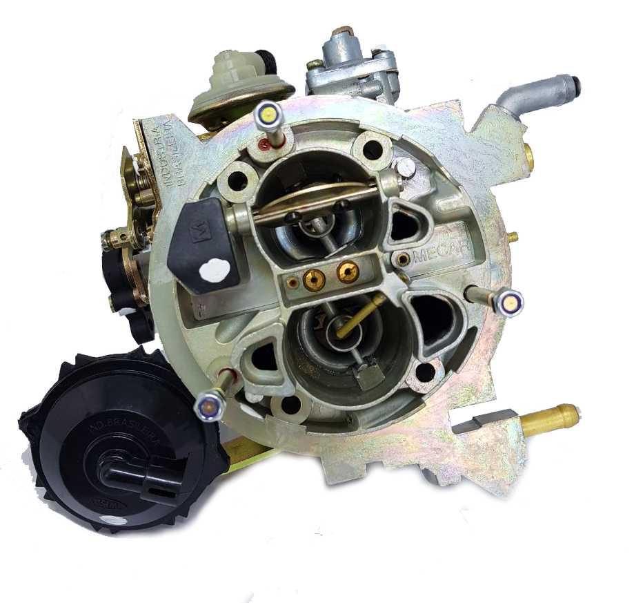 Carburador Uno 1.0 Mille Eletronic ELX Weber TLDF Gasolina 92 a 96