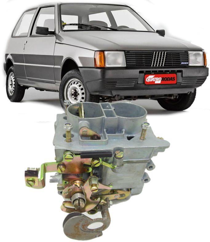 Carburador Uno Mille 1.0 Brio Duplo Gasolina Mod. Weber Recondicionado