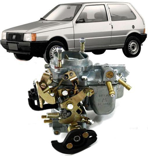 Carburador Uno Premio Elba Fiorino 32 ICEF ou 34 ICEF apos 1990 1.5 ou 1.3 C/ Roldana a gasolina