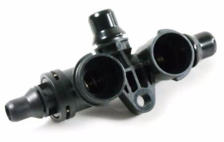 Carcaca Valvula Termostatica do Cambio Automatico da Bmw X5 E53 3.0i 4.4i 4.6i 4.8i de 2000 a 2006 - 17107559966