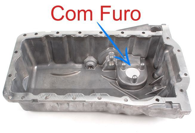 Carter Do Golf Audi A3 e TT 1.8T Turbo de 180CV 1999 a 2006 Com o Furo