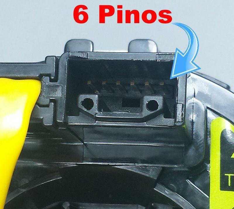 Cinta Airbag Hard Disc Corolla Seg 1.8 16V 2003 A 2008 Com Controle Som