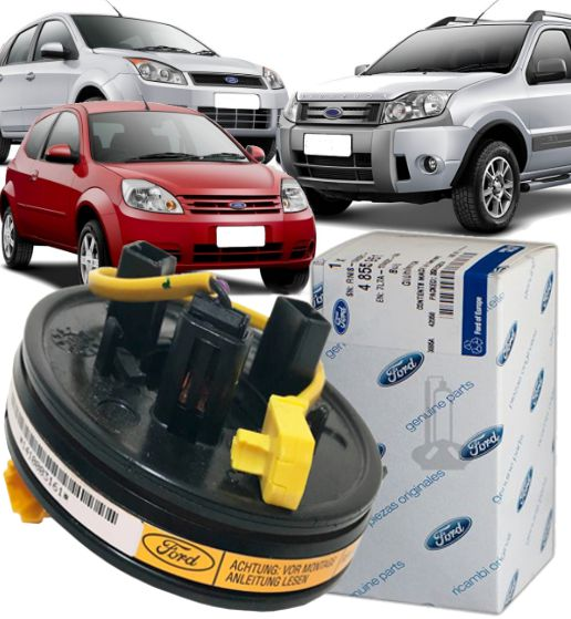 Cinta Airbag Hard Disc Fiesta Ecosport Ka De 2003 À 2012
