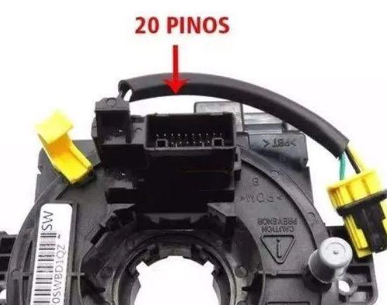 Cinta Airbag Hard Disc Honda Fit e City 1.5 16V Apos 2015 Sem Controle de Som Volante