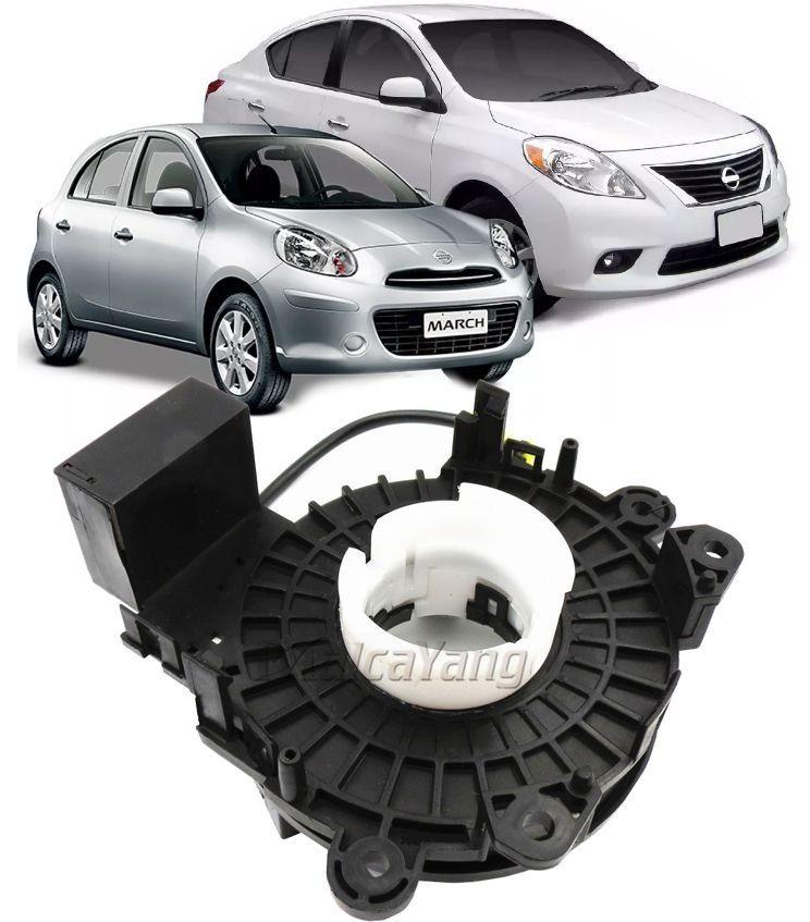 Cinta Airbag Hard Disc Nissan March e Versa 2011 a 2016 Com comando De Som No Volante