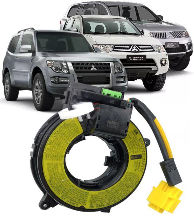 Cinta Airbag Hard Disc Pajero Full Dakar L200 Triton Todos Com Controle De Som No Volante E C/  Pilo