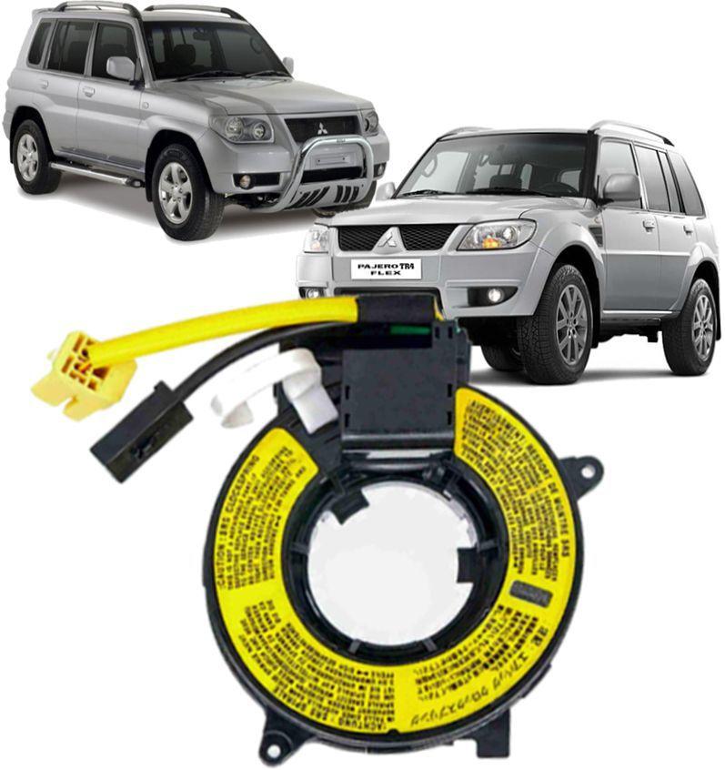 Cinta Airbag Hard Disc Pajero Full e Dakar L200 Triton Tr4 Airtrek e Outlander Sem controle de som no Volante - 8619A016