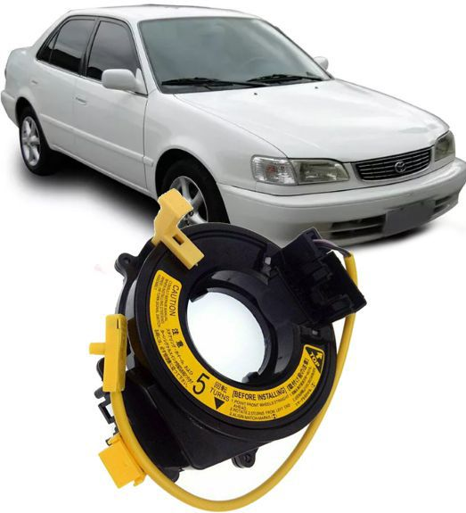 Cinta Airbag Hard Disc Toyota Corolla Ate 2002 Sem Controle Som No Volante