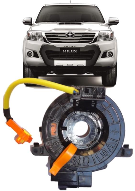 Cinta Airbag Hard Disc Toyota Hilux SRV  e SW4 Apos 2006 Todas Com controle de som no volante