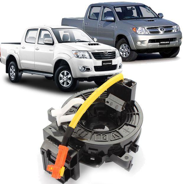 Cinta Airbag Hard Disc Toyota Hilux SRV e SW4 Apos 2006 Todas Sem controle de som no volante