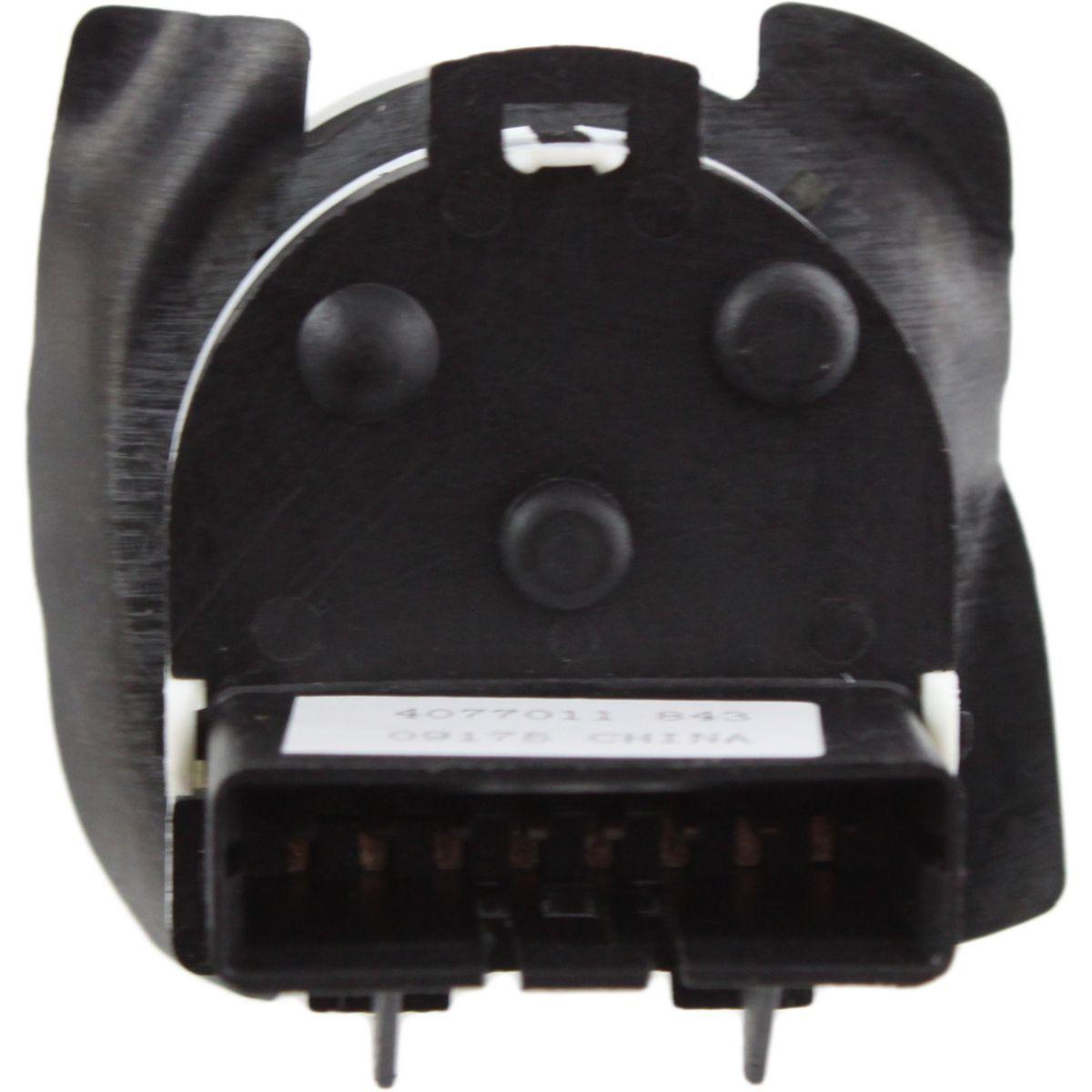 Comando Botao Interruptor Do Retrovisor Eletrico S10 Blazer 1995 a 2011 Original