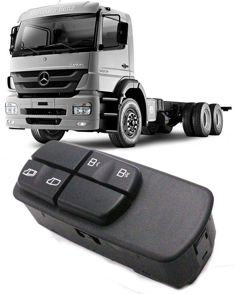 Comando Botão Vidro Eletrico Mercedes Benz Axor Atego Actros Direito