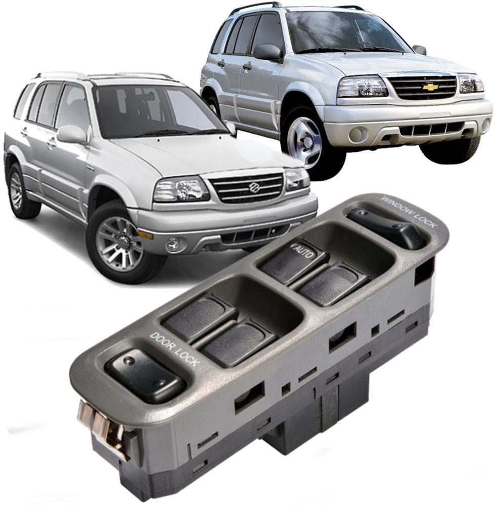 Comando Botao Vidro Eletrico Suzuki Gran Vitara Gm Tracker