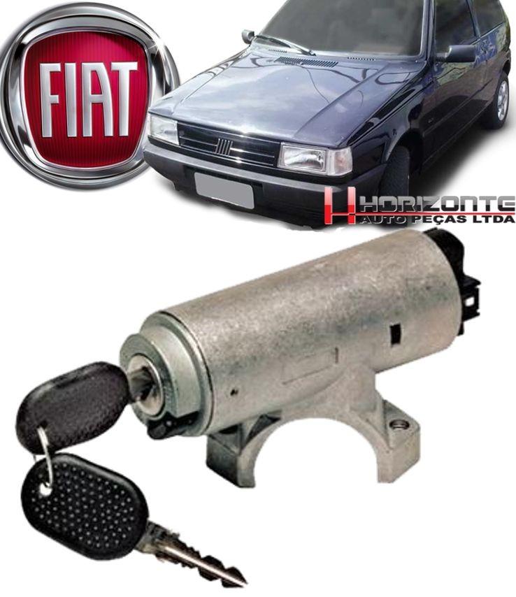 Comutador e Chave Com Cilindro e Trava Direcao Uno Elba Fiorino 1985 a 2002