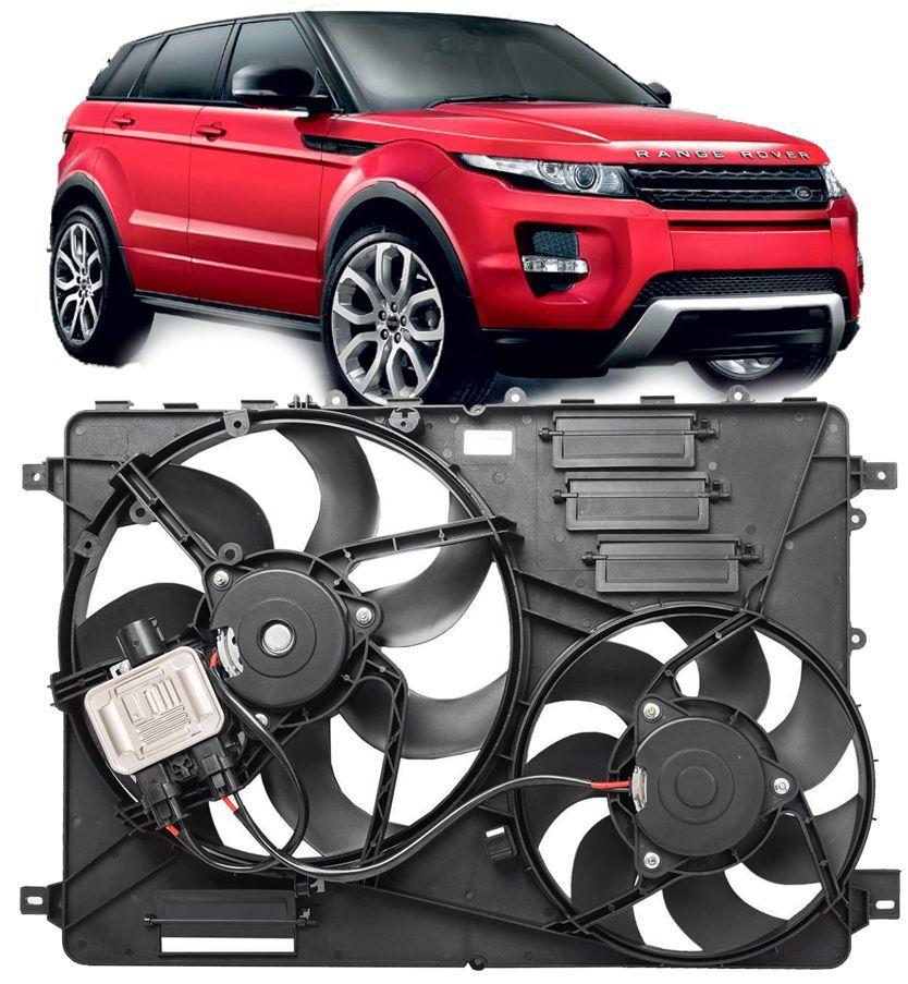 Conjunto De Ventoinha Land Rover Evoque 2.0 16v Turbo 2.2 Diesel 2011 À 2018