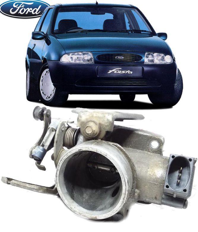 Corpo Borboleta Tbi Fiesta Courier 1.4 16v de 1996 a 2000 97mf-9677-ba