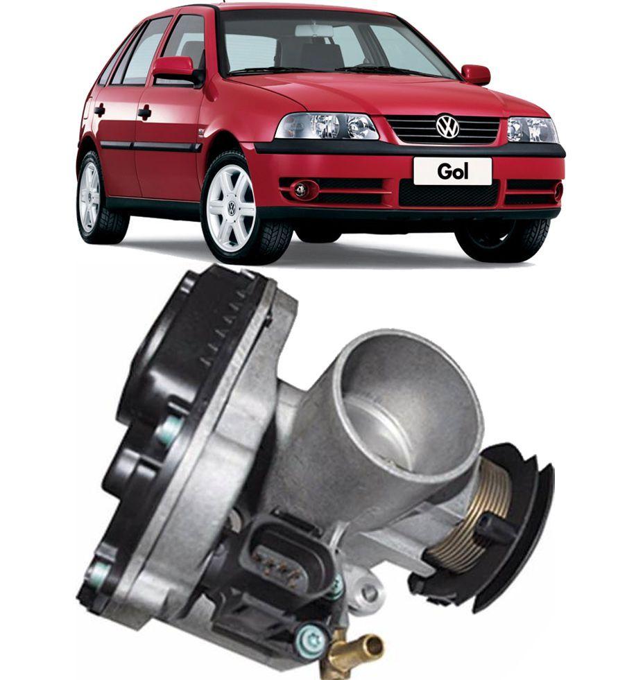 Corpo Borboleta Tbi Gol Parati 1.0 8v e 16V Motor AT apos 1997 Com Cabo