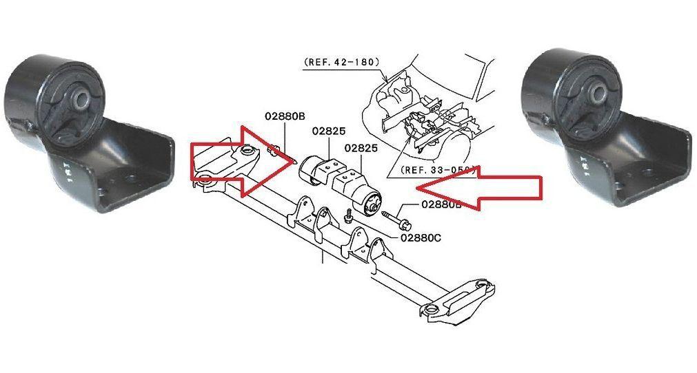 Coxim Cambio Manual Pajero Tr4 2.0 16v Lado Direito - Mr510080
