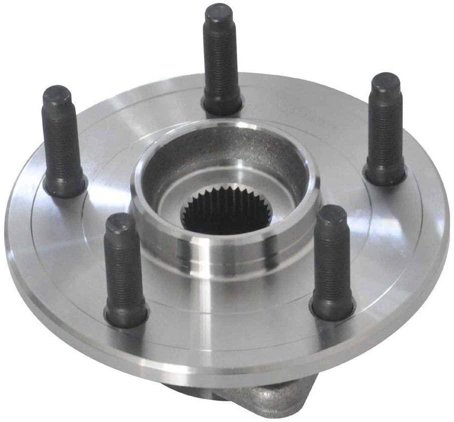 Cubo de Roda Com Rolamento Dianteira Dogde Ram 1500 5 Furos Sem Abs