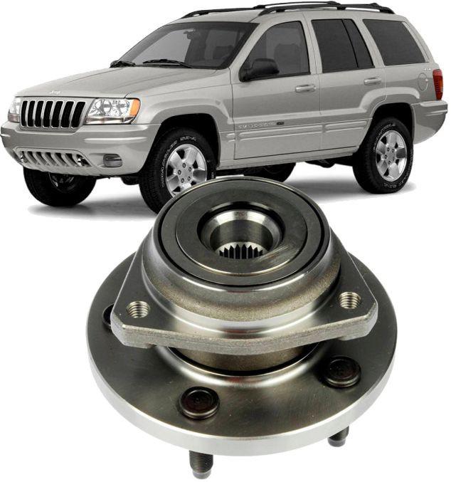 Cubo de Roda Com Rolamento Dianteira Grand Cherokee 4.7 De 1999 A 2004