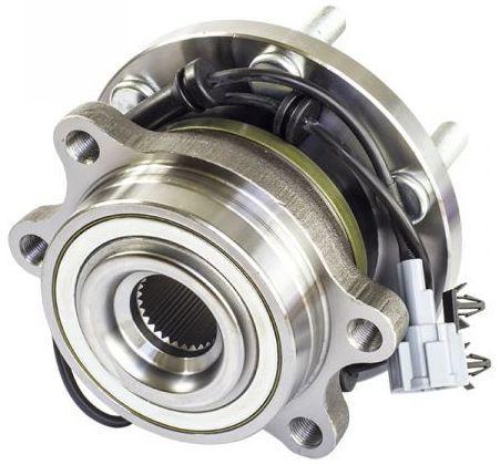 Cubo De Roda Com Rolamento Dianteira Nissan Frontier 2.5 Diesel 4X4 apos 2008 Com sensor de freio ABS