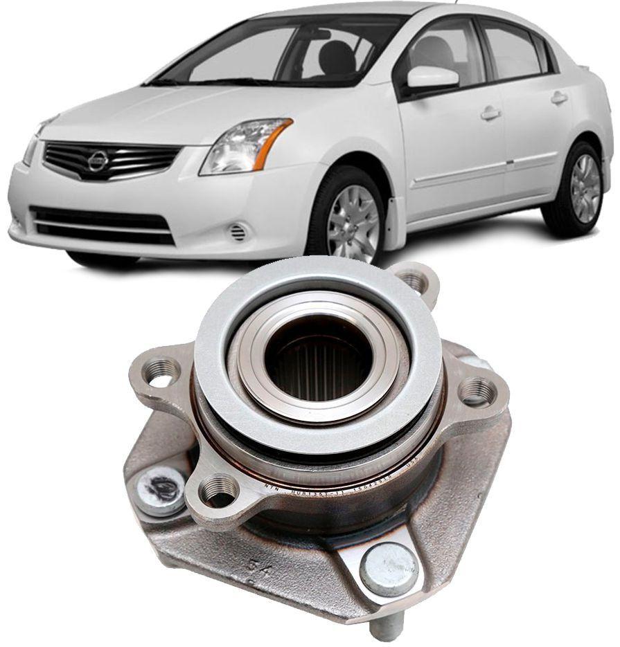 Cubo de Roda Com Rolamento Dianteira Nissan Sentra de 2007 a 2013 Com ABS