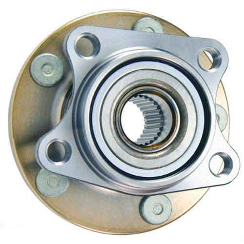 Cubo de Roda com Rolamento Traseiro Ford Edge 3.5 V6 24v Awd de 2007 À 2010