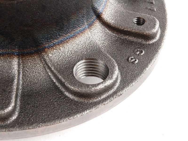 Cubo de Roda com Rolamento Traseiro Jetta 11/... Audi A3 Sportback 07/...